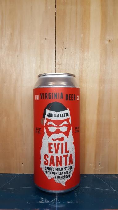 Vanilla Latte Evil Santa