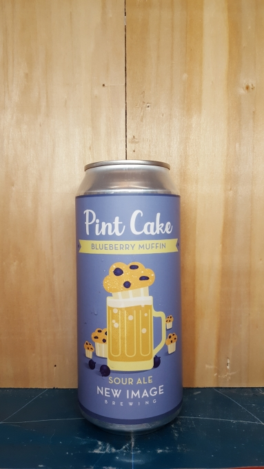 Pint Cake : Blueberry Muffin