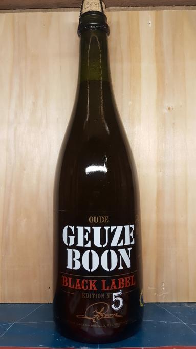 Geuze Black label edition n°5